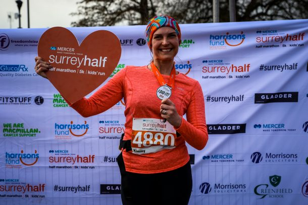 Surrey Half Finisher
